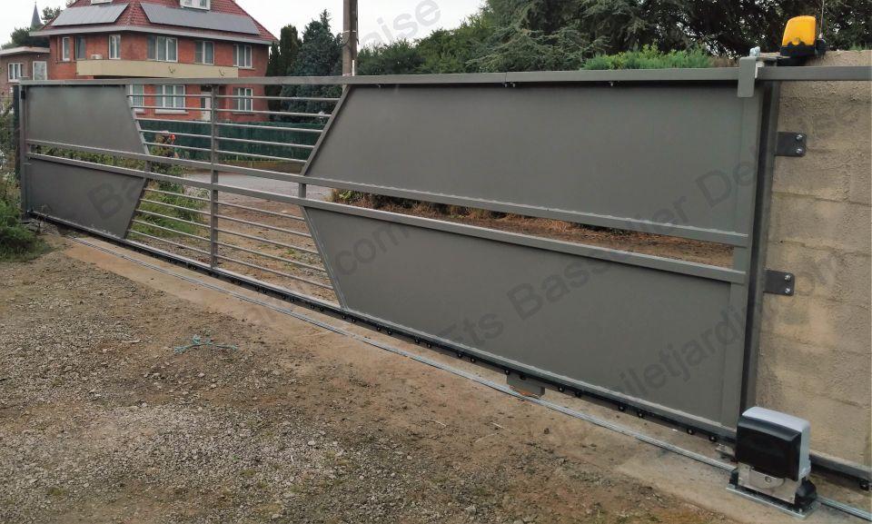 Portail et jardin ferronnerie for Prix portail jardin